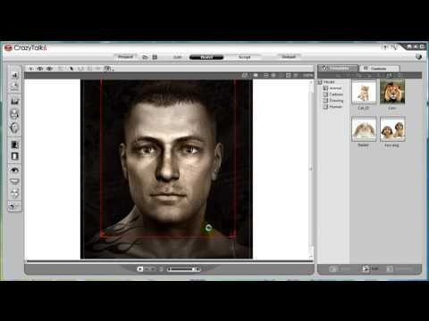 CrazyTalk6 Tutorial – Basic face fitting