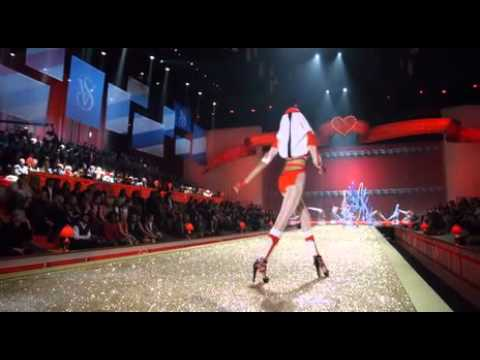 Footage from the Victoria's Secret Fashion Show