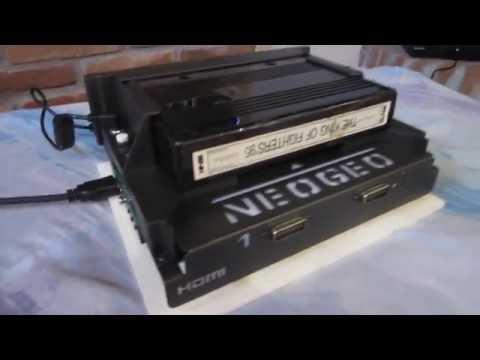 MVS NEO GEO CONSOLIZED SNK MV-1FZ CON UNIBIOS 3.2 E HDMI 720p/1080p OUT