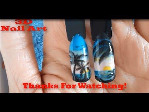 Uñas Decoradas 2019/ Diseños de Uñas Paso a Paso - 3D Nail Art