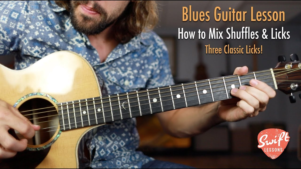 How to mix Blues Shuffles & Licks | Lead Guitar Lesson