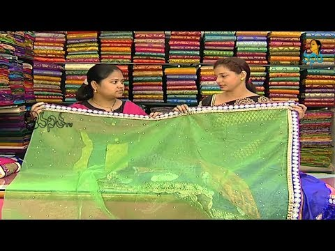New pattern Kanchi Pattu Designer sarees - Vanitha Tv Sogasu Chooda Tarama 21 February 2014 06 PM