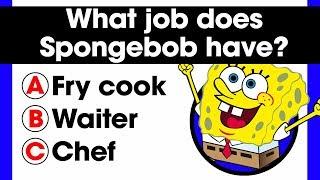 Video Only a true fan can complete this Spongebob quiz   20 Fandom Questions   Comic books trivia MP3, 3GP, MP4, WEBM, AVI, FLV Oktober 2018