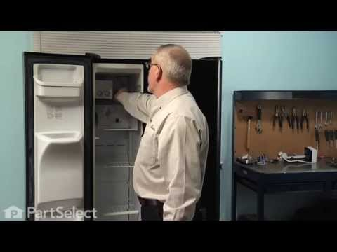 Refrigerator Repair – Replacing the Ice Maker (Frigidaire Part # 241798201)