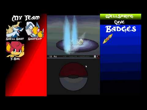 Lets Play! Pokemon Blaze Black Episode 7 - Meet Shift and Loaded!