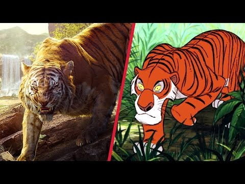 The Jungle Book Trailer Gets Animated | Disney Side By Side By Oh My Disney