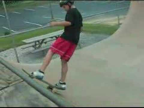 Cruising at Cluggy's Skatepark