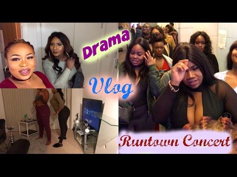 Vlog   Runtown concert uk 2017, Ass shaking, Drama house   Jenny Fyn