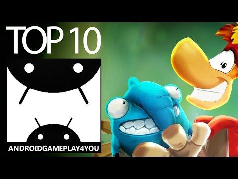 TOP 10 BEST PLATFORMER ANDROID GAMES 2016!