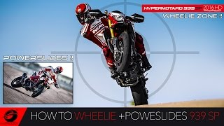 6. HOW TO WHEELIE 2016 New Ducati Hypermotard 939 SP Ultimate Review