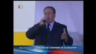 Rifat Berisha Kenge Per Kryministrin Sali Berisha . Ne Isniq Te Lapidari I Patriotit  Isa Boletini