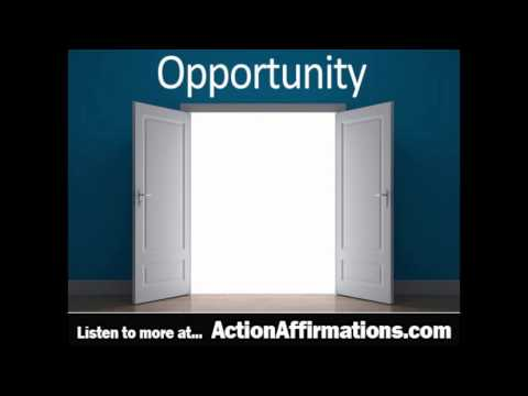 Opportunity Affirmations