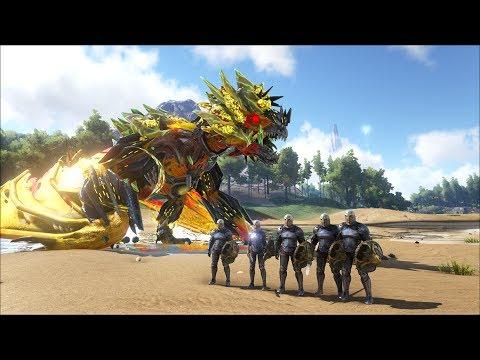 ARK SURVIVAL EVOLVED #53: Siêu Boss Robot Rồng và Kỵ sĩ rồng NPC - Thời lượng: 55:57.
