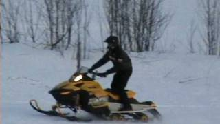 8. ski-doo 1200 turbo.