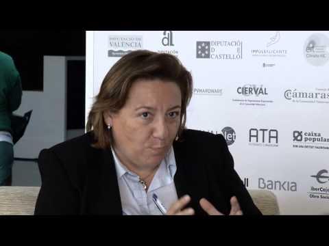 Entrevista a Antonia Salinas en el #DPECV2014