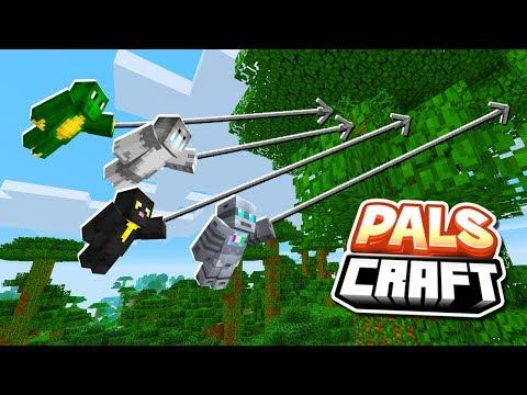 CAPTURE THE FLAG (Grappling Hook & Pals Mod) CHALLENGE!   PalsCraft #20