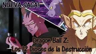 DRAGON BALL Z: Saga De Los Dioses,Nuevos Sayayin Dios,Nuevos Dioses, Nuevas Fusiones. L 2014 L