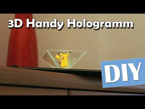 Handy 3D Hologramm Projektor - DIY | Anleitung