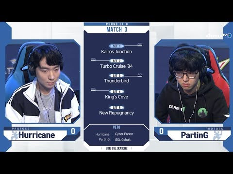 [2019 GSL S2] Ro.8 Day2 Match1 Hurricane Vs PartinG