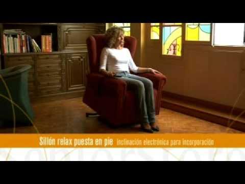 Sillón Relax Elevación Inclinación Independiente Poli Piel