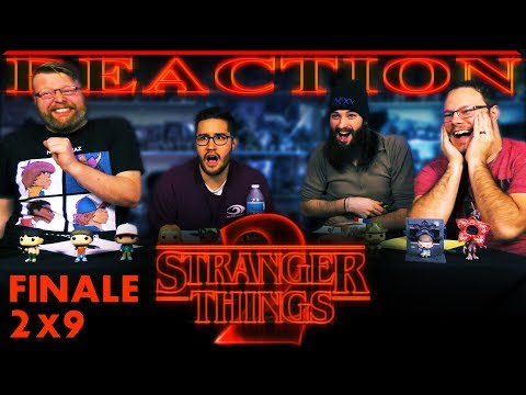 "Stranger Things 2x9 REACTION!! ""Chapter Nine: The Gate"""