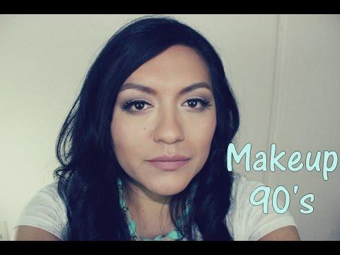 90's Makeup/ look natural