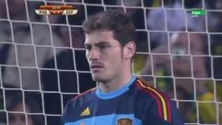 WM 2010: Casillas hält Elfmeter gegen Paraguay