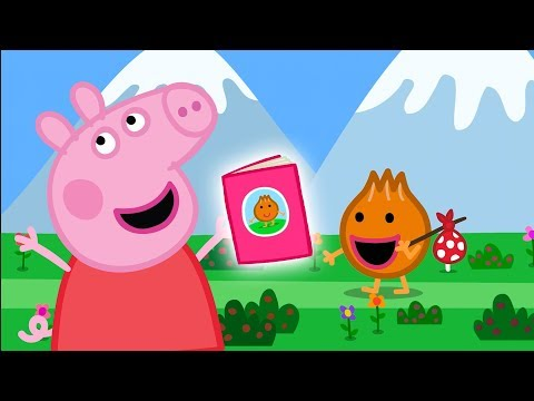 Peppa Pig Official Channel   Storytime with Peppa Pig! Reading Month Special