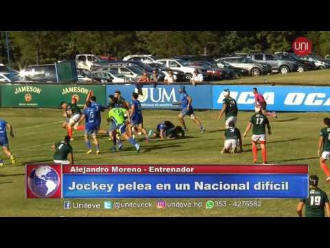 Jockey pelea en un Nacional difícil