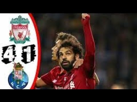 Liverpool Vs Porto 4-1 Full Goals And Match Highlights