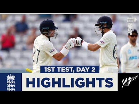 England v New Zealand Day 2 Highlights | England Rally After Conway Double Century || #Devonconway