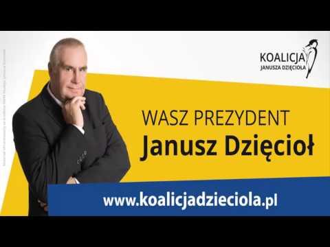 Andrzej Rosiewicz zaprezentował podczas konwencji w Teatrze nową piosenkę dla kandydata na prezydenta Grudziądza - Janusza Dzięcioła.