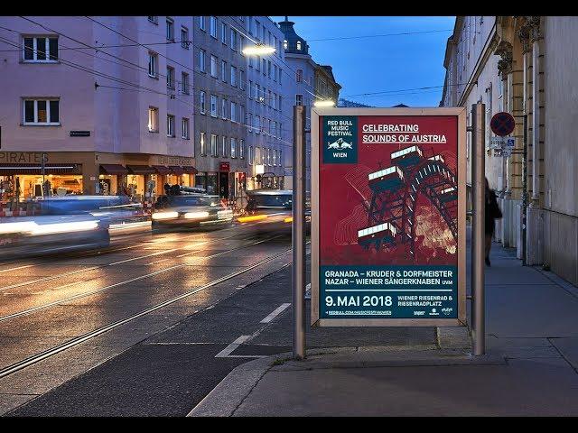 Red Bull Music Festival leuchtet am City Light
