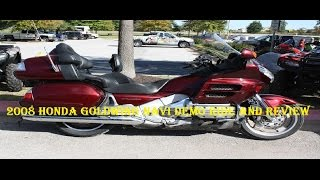 2. 2008 Honda Goldwing Navi Demo Ride and Review