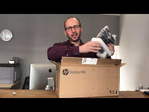 HP EliteDesk 800 G3 Desktop Mini PC Unboxing & Inside look