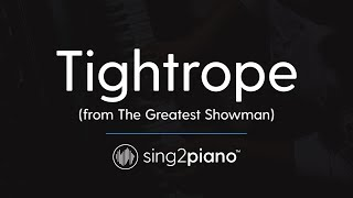 Tightrope (Piano Karaoke Instrumental) Michelle Williams