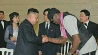 Dennis Rodman in North Korea: Kim Jong-un is 'friend for life'