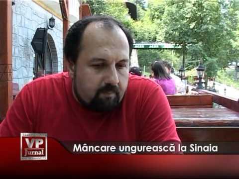 Mâncare ungurească la Sinaia
