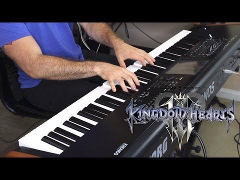 "Kingdom Hearts III - ""Don't Think Twice""   PIANO COVER (видео)"