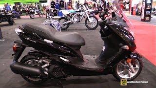 6. 2018 Yamaha S-Max 150 Scooter - Walkaround - 2018 Toronto Motorcycle Show