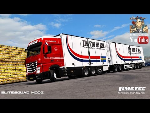 Limetec Full Trailer & Truck Body Pack v1.0