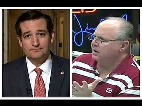 limbaugh - 9/25/13 - Following the conclusion of his filibuster-like marathon speech in the U.S. Senate, Sen. Ted Cruz (R-TX) joined conservative radio host Rush Limbau...