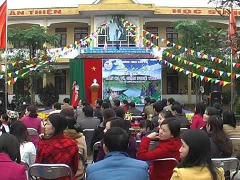 Trường THCS Văn trị tổ chức ngày hội Em yêu làn điệu dân ca