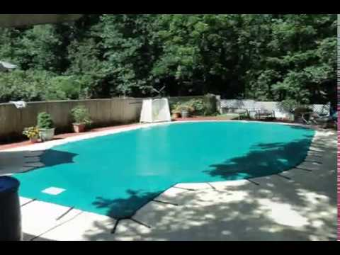 Swimming Pool Winter Safety Cover Installation - Springfield MO.