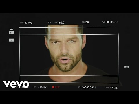 Ricky Martin – Making of Disparo al Corazón Video