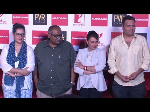 Rani Mukerji Launch 'Mardaani' Anthem