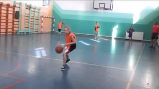упражнения на введение мяча в баскетболе