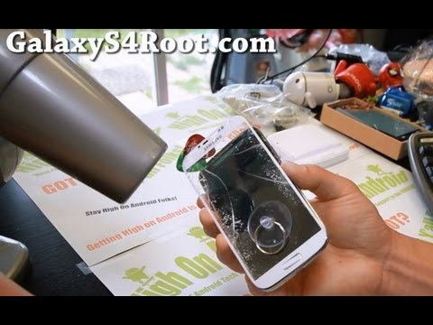 Screen - Here's a step-by-step video tutorial that shows you how to replace screen glass