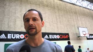 Arturas Karnisovas Interview at 2013 adidas EuroCamp in Treviso