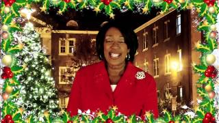 President Boyd Holiday Greeting  Faculty and Staff